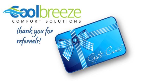 Referral Program - Cool Breeze Comfort Solutions