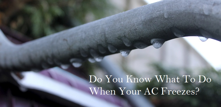 What To Do When Your Air Conditioner Freezes-CoolBreeze